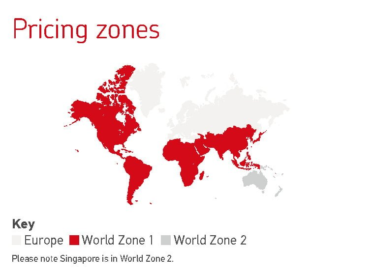 Pricing Zones